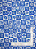 Nautical Sea Shell Star Fish Blue Cotton Fabric Timeless Treasures C1281 By Yard