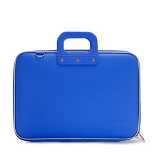 "Bombata - Cobalt Blue Classic 15"" Laptop Case/Bag with Shoulder Strap"
