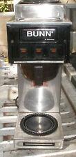 Bunn Stainless Steel  3 Burner Commercial Coffee maker