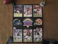 San Francisco 49ers Vintage Jan.1995 Super Bowl Xxix Poster Rare Collectible