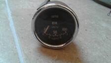 CLASSIC MINI MK1 COOPER S WORKS OIL PRESSURE GAUGE DIAL GENUINE SMITHS BMC 1275