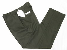$95 NWT Mens Calvin Klein Pindot Flat Slim Dress Pants Charcoal Sz 34x29 34 M615