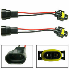 9006 Male to H11 H9 Female Headlight Fog Light Extension Wiring Harness Sockets