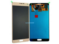 Pour Samsung Galaxy note 4 SM-N910F écran LCD Vitre Tactile Touch Screen Gold