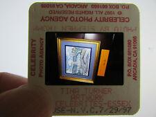 More details for original press photo slide negative - tina turner - 1997 - s