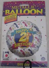 Happy 21st Birthday Mylar (Metallic) Balloon ***NEW in Package***
