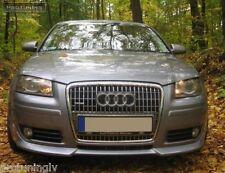Audi A3 8P 05-12 Front Bumper spoiler S line lip addon S-Line abt s3 rs3 Valance