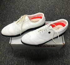 New Etonic Golf Shoes Style 7381 Size 101/2 M Leather Uppers Durable Lite Spikes