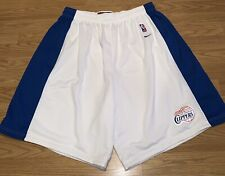 LOS ANGELES CLIPPERS LA NBA NIKE AUTHENTIC SHORTS WHITE WILLIAMS KAWHI GEORGE