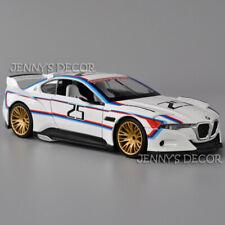 1:24 Diecast Free Wheeling High Light Concept Car Model BMW 3.0 CSL Hommage R