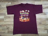 Rare ! True Vintage OG 90's Pokémon 1999 Nintendo Promo Sega Video Games T Shirt