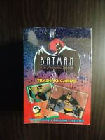 1993 Topps Batman The Animated Series 1 Factory Sealed Box FASC