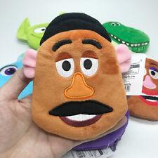 Toy story Mr.potato plush zip coin bag money bags storage handbag cartoon new