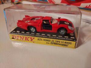 Dinky Toys 210 Alfa Romeo 33 Tipo Le Mans 1/43 scale