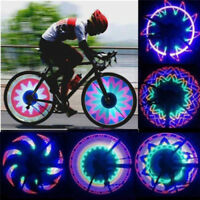 Double Sided 16 LED Colorful Knight Bike Wheel Spoke Lights Warning Signal Light