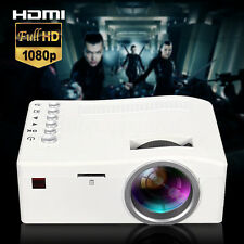 UC18 HD 1080P Home Theater Multimedia LED Mini Projector HDMI/TV/AV/VGA/USB PC