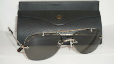 Matsuda Sunglasses New Titanium Rimless Gray M3038 SG AG 56 20 145