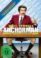 CHRISTINA APPLEGATE - ANCHORMAN-DIE LEGENDE VON RON BURGUNDY   DVD NEU