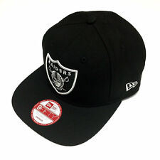 New Era NFL Oakland Raiders Shield Logo Black Snapback Cap 9fifty NewEra