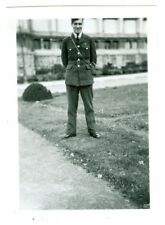 Canadian Soldier or Airman photo, WWII. Brussels 1944, named.  Original Photo