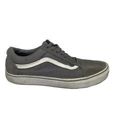 Vans Old Skool Shoes Men's Size 10 Gray Sneakers Low Top Skate