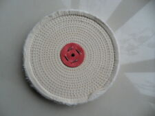 """10""""X1""""(250 X 25)MM Spiral Close Sewn Buffing Wheel for polishing metal,stainless"""