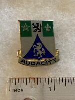 Authentic US Army 82nd Recon Battalion DI DUI Unit Crest Insignia P