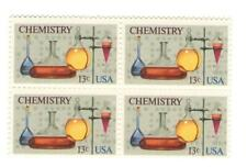 New listing American Chemical Society 100th Anniv 44 Yr Old Mint Vintage Stamp Block 1976