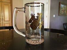 Lockheed HUBBLE SPACE TELESCOPE Picture On Commemorative Glass Beer Mug/Stein