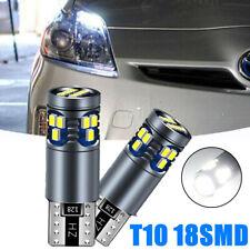 2x T10 W5 W 18 SMD LED Canbus Standlicht Beleuchtung Birne Lampe für VW AUDI BMW