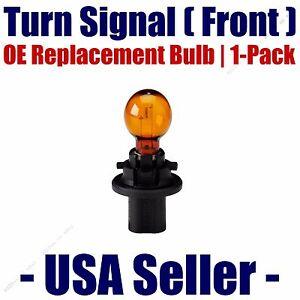 Front Turn Signal Light Bulb 1pk - Fits Listed Saturn Vehicles - 7014/HPC24WA