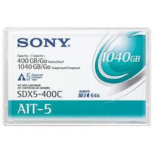 Sony 8mm AIT-5 Data Tape w/R-MIC 400GB (SDX5-400C) - NEW