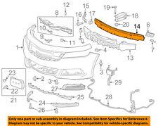 Chevrolet GM OEM Impala Front Bumper-Impact Reinforcement Bar Rebar 23124168