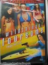 Wild Things Foursome (DVD, 2011) NEW SEALED Region 2 PAL Nordic Packaging
