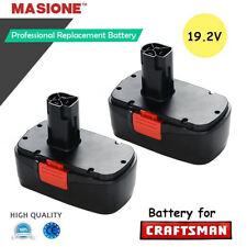 2x Ni-CD Replacement for Craftsman C3 11375 19.2 Volt Cordless DieHard Battery
