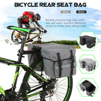 Bike Back Bicycle Rear Seat Bag Cycling Rack Grocery Road Bike Storage Bag UK