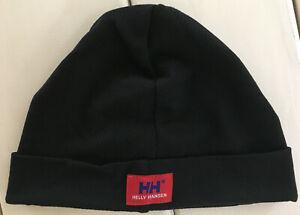 Helly Hansen Made in USA Beanie Polypropylene Helmet Liner Hat Winter Cap EUC