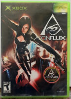 """Aeon Flux"" 2005 Original XBox MTV Games Complete With Manual"