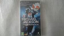 MICHAEL JACKSON THE EXPERIENCE NUEVO SONY PSP PAL ESPAÑA.PRECINTADO