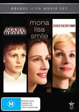 JULIA ROBERTS 3MOVIE DVD Mary Reilly+Mary Reilly+Mon+Charlie Wilson's War NEW R4