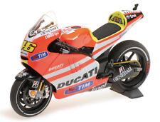 1:12 Minichamps 122111046 Valentino Rossi 2011 Moto Ducati GP11.1 - Entièrement NEUF dans sa boîte