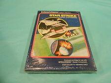 Star Strike Intellivision INTV Game Brand New Sealed! Mattel Electronics