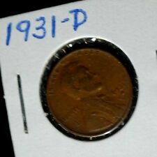1931-D US Lincoln Wheat Penny!