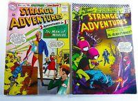 DC STRANGE ADVENTURES (1965) #181 #191 SILVER AGE Reader Lot FR/GD Ships FREE!