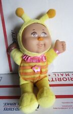 """Cabbage Patch Kids Doll Yellow Bee Brown Eyes Snugglies 9"""""""