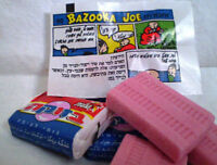 10 PCS Elite Bazooka Joe Kosher Original Flavor Bubble Gum with Comics holy land