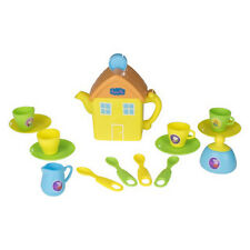 Peppa Pig House Children Kitchen Pretend Play Tea Party Toy Teapot Cups Playset