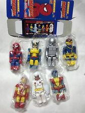Medicom Marvel Spider-Man Super Heroes Series 1 Kubrick - 7P figure ironman