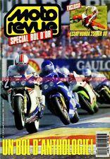 MOTO REVUE 2814 HONDA CR 250 1988 ; KAWASAKI KX 125 1988 ; Spécial BOL d'OR 1987