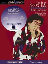 John Sebastian Beginning Blues Harmonica Book and Cd New 000841074